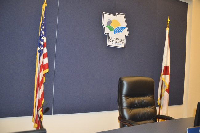 frank meeker appointment seat flagler county commission