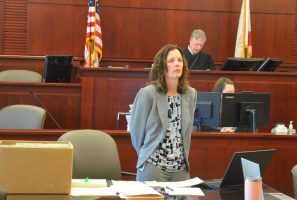 Assistant State Attorney Melissa Clark prosecuted the case before Circuit Judge Terence Perkins. (© FlaglerLive)