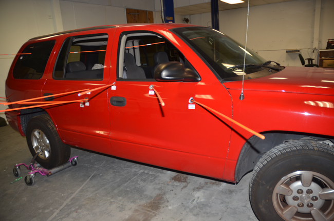 The car 17-year-old Jordan Davis was in when Michael Dunn shot and killed him, because Dunn was upset about loud music.