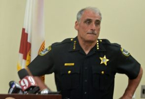 Volusia County Sheriff Mike Chitwood. (© FlaglerLive)