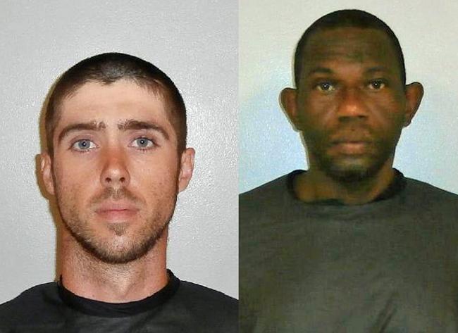 Corey Miller, left, and John Stubbs.