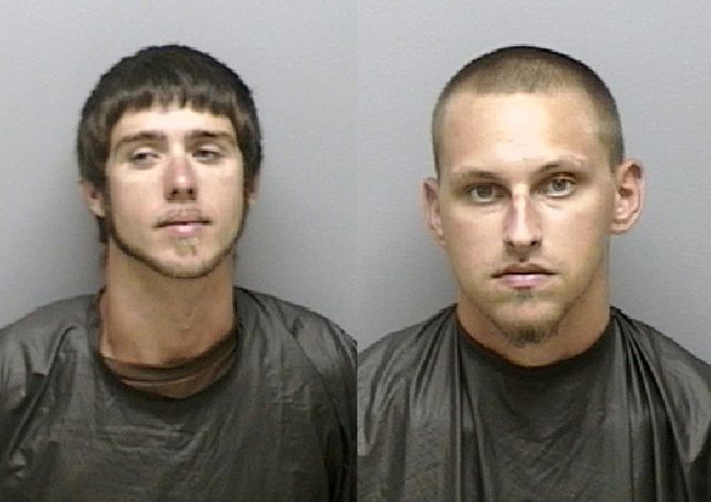 corey john miller and tyler barber impersonating an officer palm coast crime