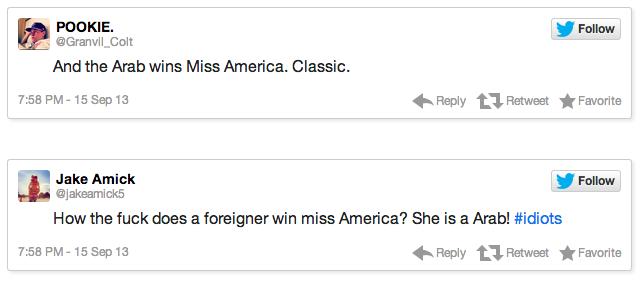 miss america tweets