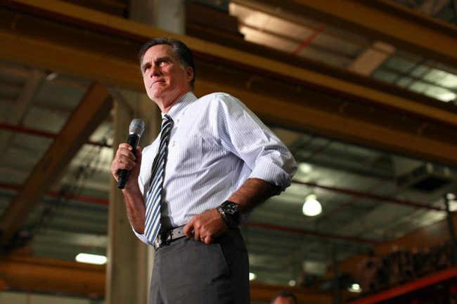 Mitt Romney in 2012. (Facebook)