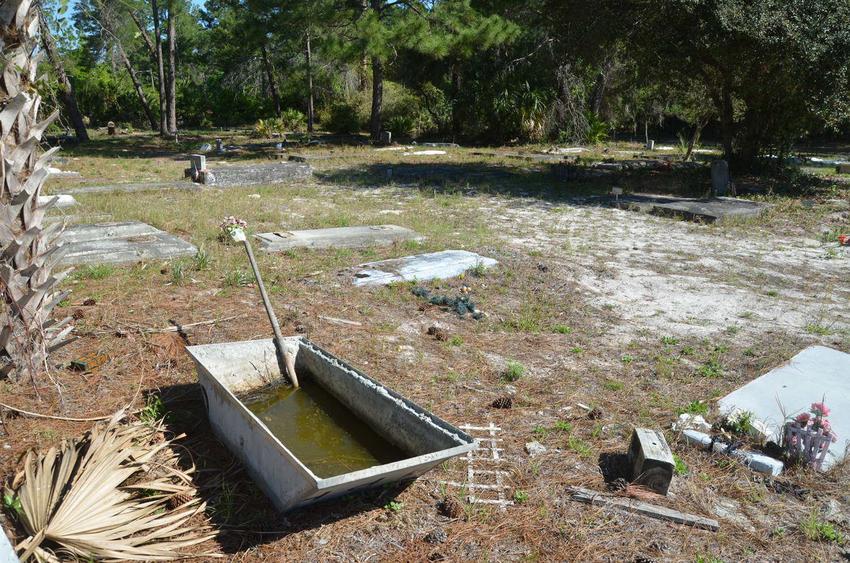 Concrete Mixing Tub : Desecration by neglect palm coast s masonic cemetery