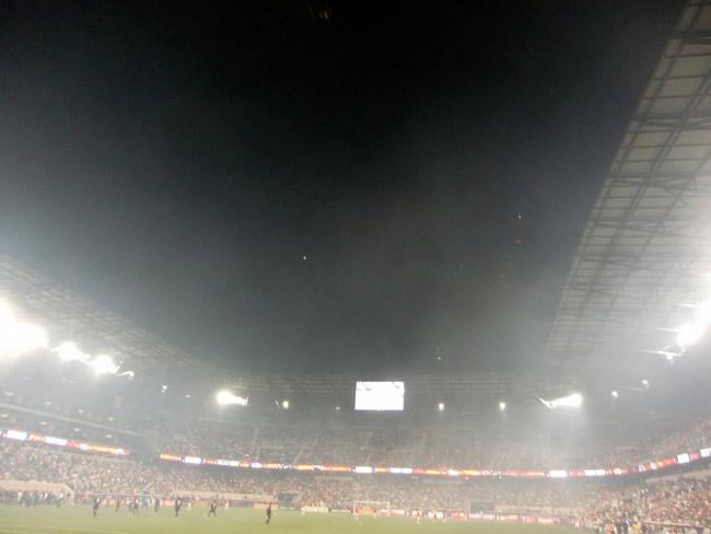 The future is foggy for MLS in Florida. (miguelangelnunez)