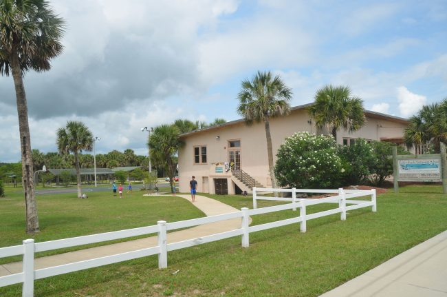 Flagler Beach's Montessori school is up for a rent increase and a lease extension at tonight's City Commission meeting. (c FlaglerLive)