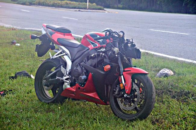 motorcycle wreck belle terre parkway