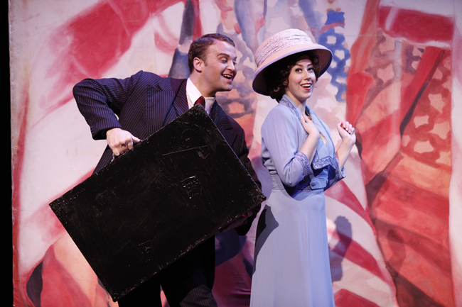 Music Man and Con man Harold Hill and Librarian Marian Paroo: 'till there was them.