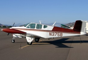 The plane that crashed, seen here parked at an airport in Arizona in 2006, when it was under a different ownership. (airlines.net)
