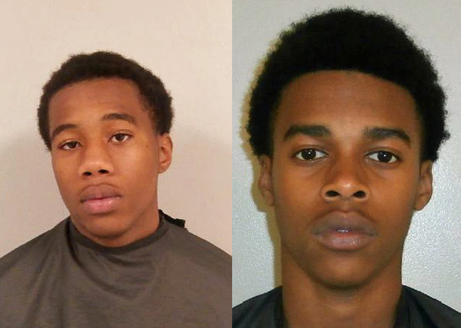 Matthew Wright, left, and Danquelle Nash are both being held at the Flagler County jail.