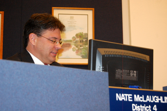 nate mclaughlin campaign ethics violation