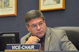 Commissioner Nate McLaughlin. (© FlaglerLive)