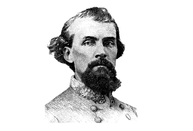 Nathan Bedford Forrest always liked his surroundings to be white.