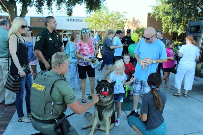 A scene from National Night Out last year at FPC. (FSCO)