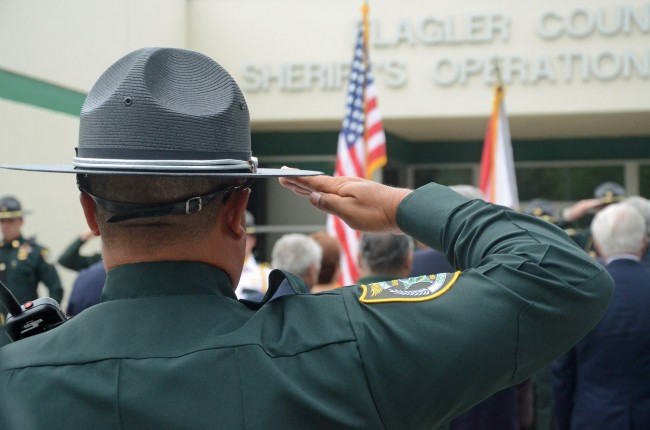 National Police Week falls between May 12 and May 18 this year. (© FlaglerLive)