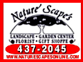 naturescapes nature scapes landscaping garden center florist palm coast