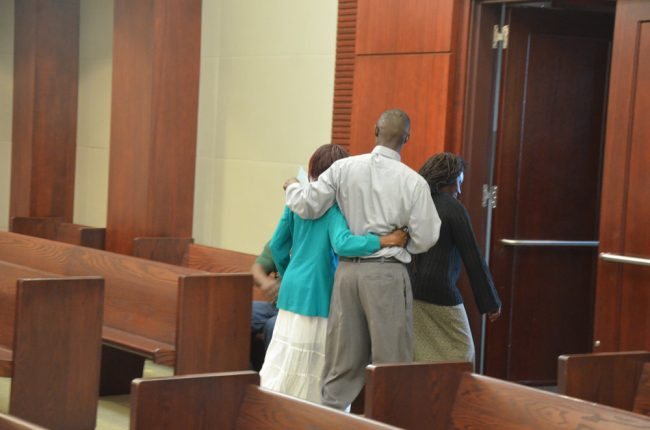 C.J. Nelson walked out of the courtroom almost a free man. (© FlaglerLive)