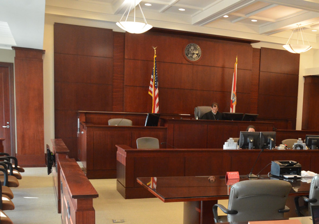 Flagler County will have a new judge before the end of the year. (© FlaglerLive)