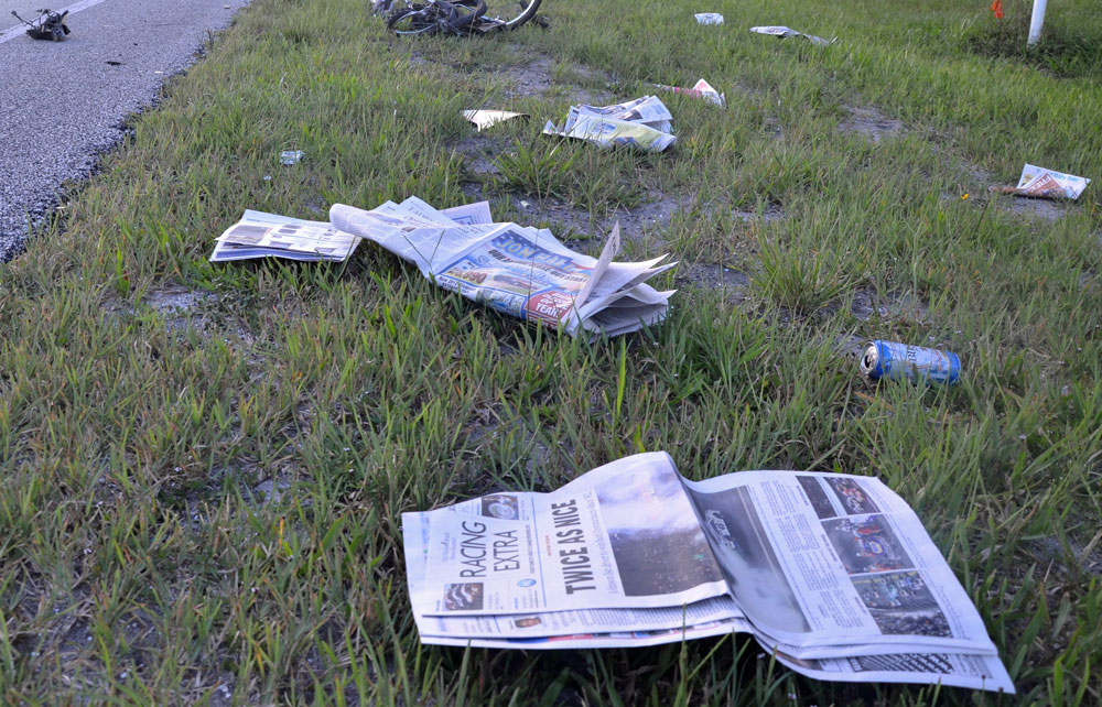 newspapers dying
