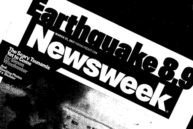 Newsweek is one of Palm Coast Data\'s latest scores, but the company, like Newsweek (which was sold in August for $1), is losing money. (© FlaglerLive)
