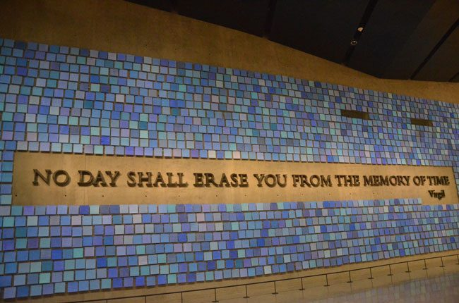 no day shall erase you from memory 9/11 museum