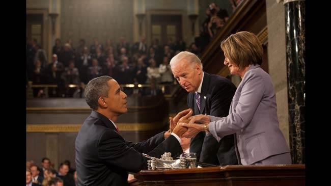 Obama Pelosi and Biden