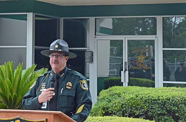 David O'Brien spent the last 29 years at the Flagler County Sheriff's Office. (© FlaglerLive)
