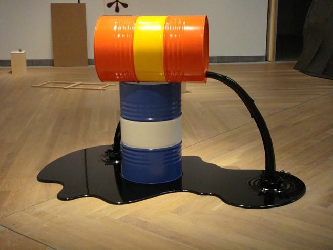 oil prices museum piece