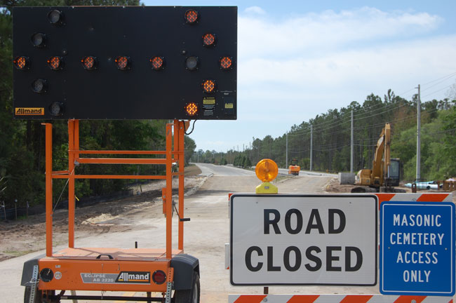 Old Kings Road, Palm Coast, Set to Reopen