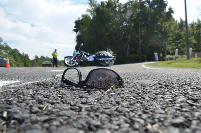 Olvis Harville of Michigan, a 65-year-old Motorcyclist from Michigan down for Biketoberfest, was one of the 28 people killed on Flagler roads, in this case on U.S. 1 in mid-October. (© FlaglerLive)