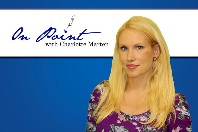 FlaglerLive On Point with Charlotte Marten