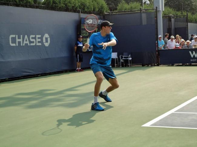 reilly opelka doubles match us open
