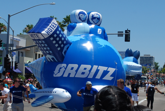 Companies like Orbitz have reasons to be full of themselves. (Joe Wolf)
