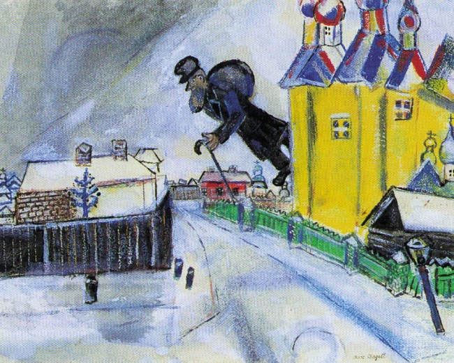 marc chagall over vitebsk