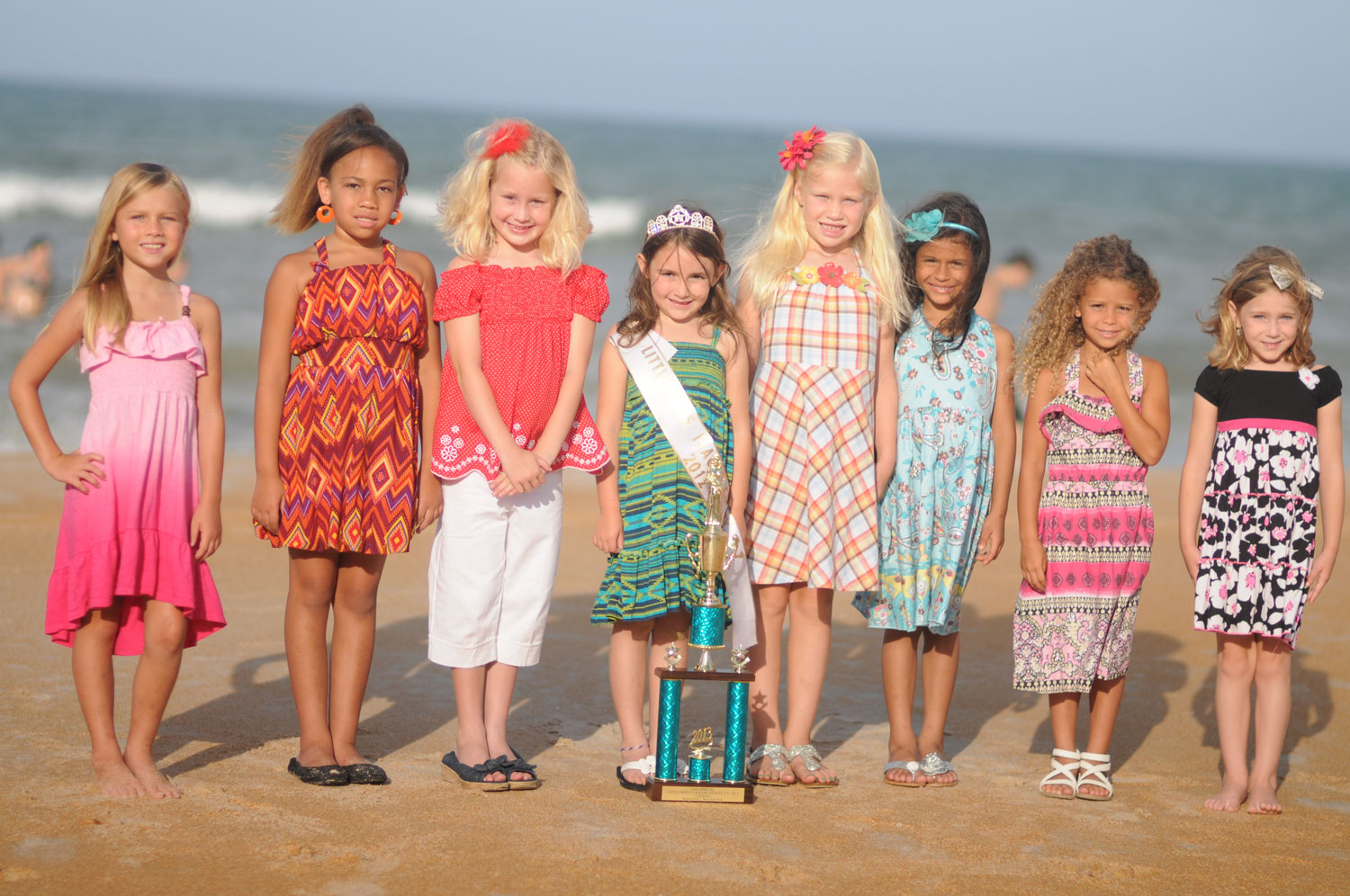 Little Miss Flagler County 2013 Contestants, Ages 5-7 -3226
