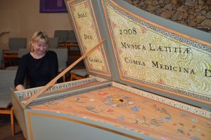 paige long harpsichord chamber players