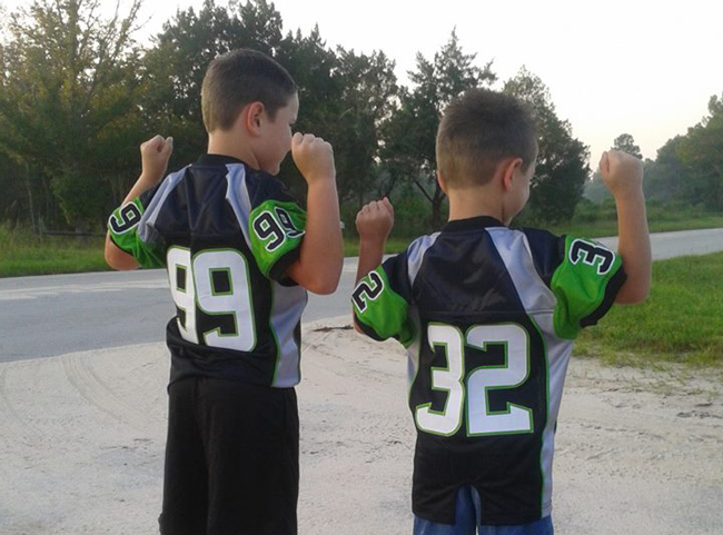 The disallowed PAL jerseys. (Michelle Taylor)
