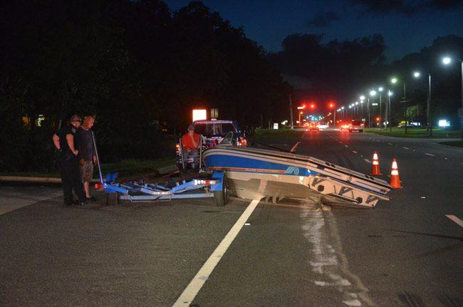 crash boat roadway