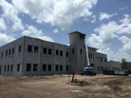 The latest look of the future Palm Coast City Hall at Town Center. Click on the image for larger view.