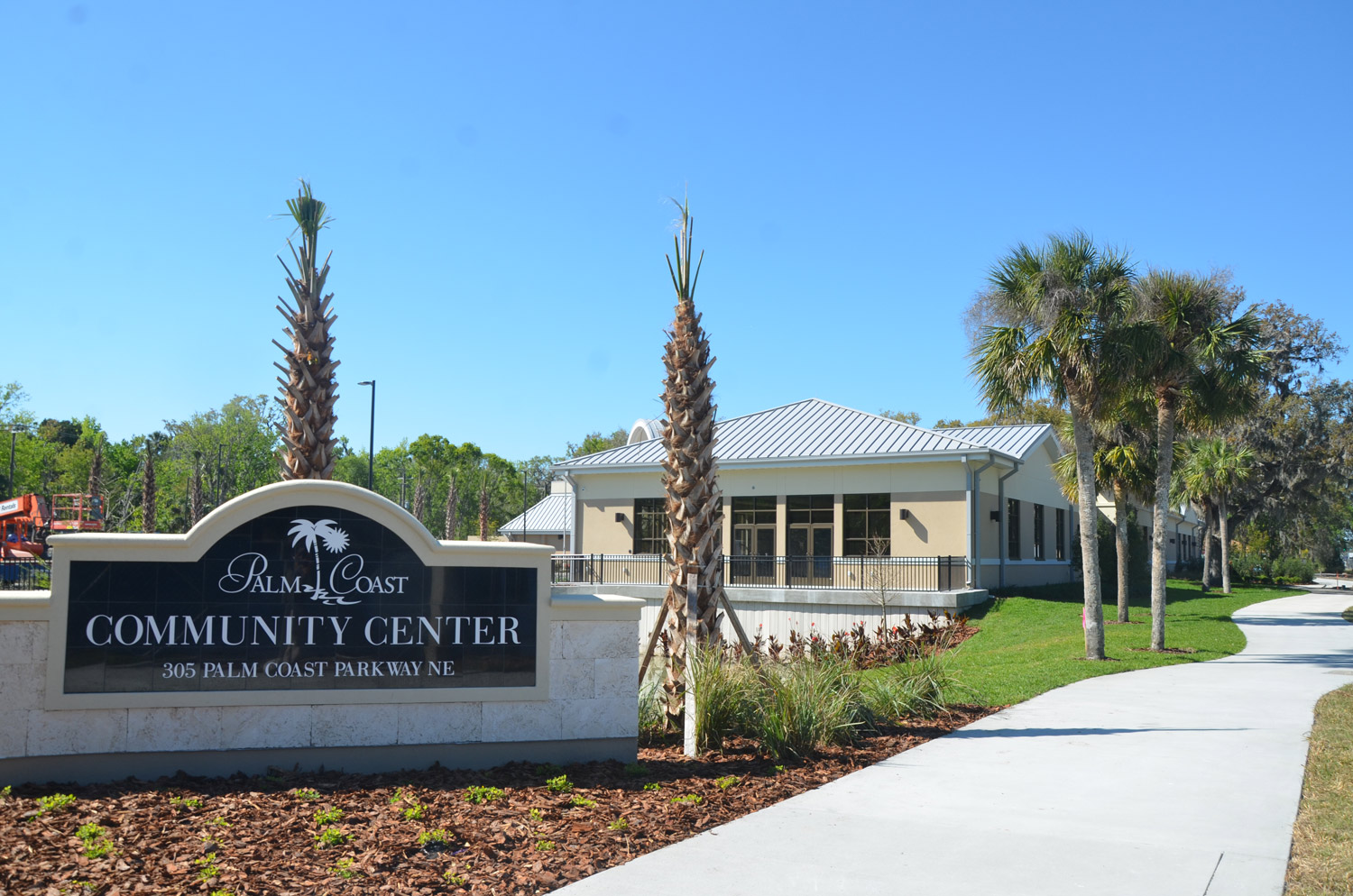 The new palm coast community center a bounty of spaces welcoming uses and nature flaglerlive for Palm beach gardens recreation center