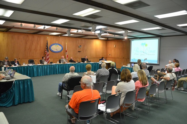 palm coast salaries council members