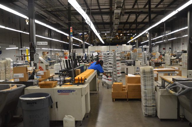 Palm Coast Data is the second-largest private employer in Flagler-Palm Coast. (© FlaglerLive)