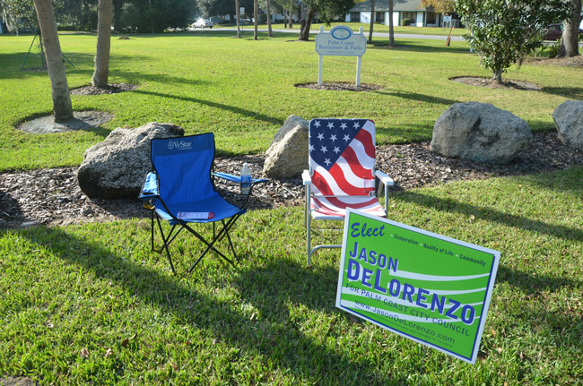 The 2011 Palm Coast City election is only one of the issues Supervisor of Elections Kimberle Weeks is contesting as she and the city attempt to resolve differences before the 2014 cycle. (© FlaglerLive)