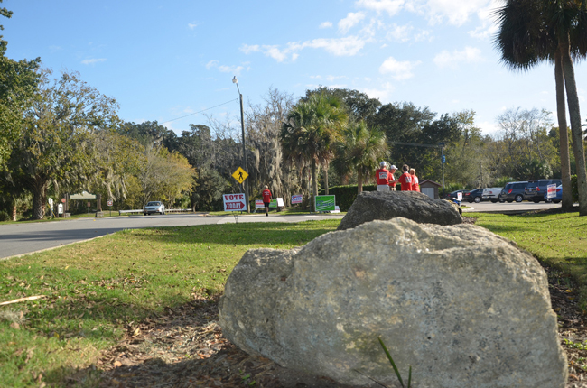 If Palm Coast were to hold its own elections in 2014, it would have just one voting location, likely the Palm Coast Community Center. (c FlaglerLive)