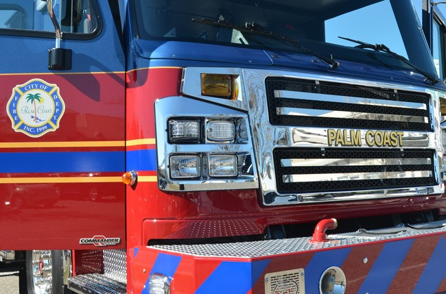 Palm Coast Mayor Jon Netts loves the city's fire department but doesn't like the sharing arrangement it has with the county when it comes to ambulance services. (© FlaglerLive)