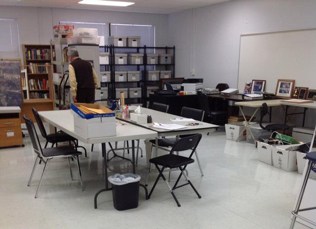 The Palm Coast Historical Society had barely gotten used to its space at Matanzas High School, which it will now vacate for a room at Holland Park. (Facebook)