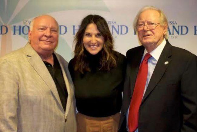 Palm Coast's three mayors: Jon Netts, Milissa Holland and Jim Canfield.