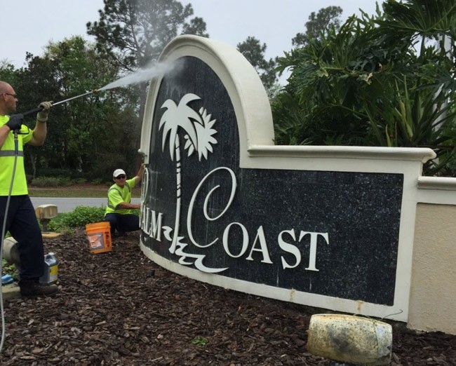 palm coast spring cleaning