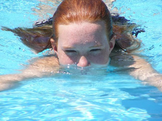 Learn to swim at Frieda Zamba pool in Palm Coast all summer.  (Katelyn Fay)